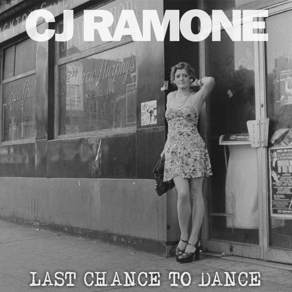 C.J. Ramone, Cover with a single woman in black and white